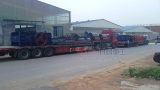 Loading Double Roller Crusher on 22th,December, 2013