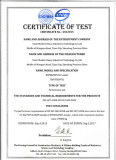 ROPS&FOPS cabin certificate