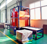 Thermoplastic film packing machine