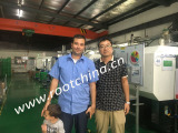 French Customer visit us to expand precision mold business