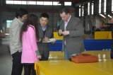 America client inspected our factory capacity for cooperation
