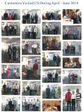 Customers visit us season II 2014