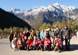 our group tour photo in yunnan 2011 year