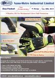 Hi-Viz mechanical glove anti-impact