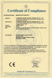 Street light CE-EMC certificates