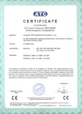 Brushless DC Pump CE Certificate