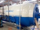 To America: 2500x4000mm Glass Autoclave in 2015