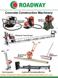 Concrete construction machinery