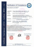 CE Certificate-Minimal Invasion Surgical Instruments