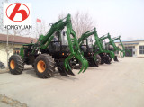 Four pieces Sugarcane wheel loader prepare for shipping