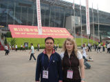 Have a Meeting With The German Customer at The Canton Fair