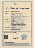 ROHS Cetificate of led flood light