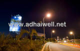 Solar Solution Advertising Billboard Project Installed in Louis Mauritius
