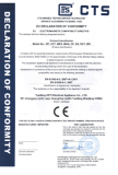 CE certificate for DP split core current transformer