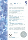 CE certificate for stator forming machine
