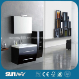 2014 Painting White MDF Bathroom vanity with Good Quality (SW-1314)