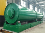 Special design long tube reactor type pyrolysis machine