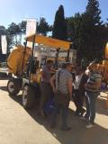 Batimatec 2015- Algeria Customer Visiting Topall Machinery