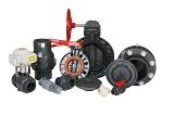 Plastic PVC Check Valve DIN ANSI JIS Standar