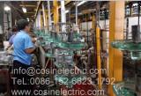 glass insulator assembling line