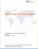 Ouge passed the BSCI Audit in 2015!
