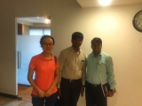 Meeting with India customer