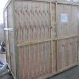 Fumigation wooden box
