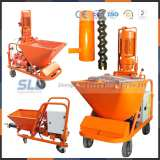 Wet and dry mix plastering machine