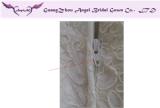 Zipper Back Workmanship on Wedding Dress and Event Dresses