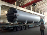To Sweden: 2700x10000mm Composite Autoclave in 2016