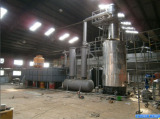 10Ton oil disitllation plant running in Indonesia