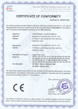 CE certificate of digital photo frame