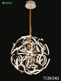 Modern Hotel Decorative Aluminium Chandeliers Pendant Lamp