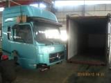Dongfeng truck SKD loading container