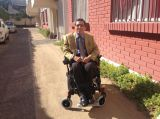 JBH electric wheelchair customer show