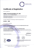 ISO 9001 certificatio