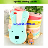Toy Rabbit Silica Gel Back Cover for iPhone 5