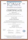 Certificate ISO 9001:2008 Standard