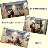 Pully Manufacture in Excon Banglore Exhibition