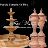 Marble Sample NY Red