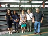 Bolivia customer visit our factory