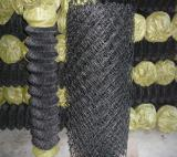Black Vinyl Coated Chain Link Fence/Chain Link Fencing