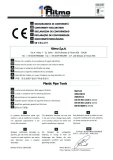 CE certificate of plastic pipe tools (Ritmo)