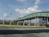 Belt conveyor for cement plant