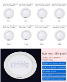 Future F-C1 Round flat 3w to 48w LED panel with CE approval