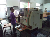 CNC lathing 2