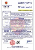 solar pump certificate
