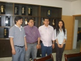 Foreign Customer From The Republic of El Salvador Visit INV company