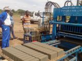 ZCJK BLOCK MAKING MACHINE INSTALLATION in SOUTH AFRICA