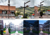 Integrated Solar Street Light in Canada